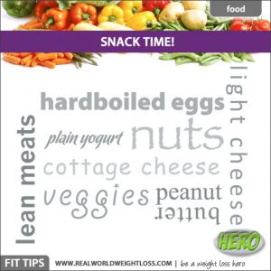 Quick snacks for weight loss