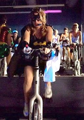Halloween spin ride