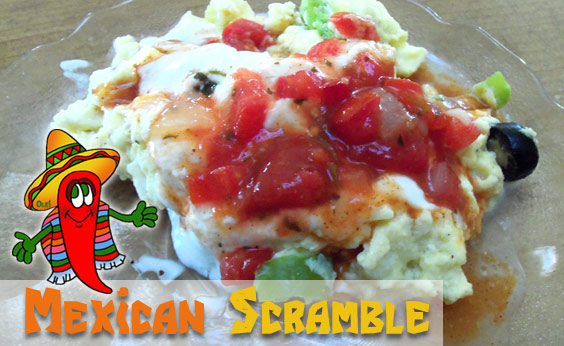 Low Fat Mexican Scramble (Recipe)