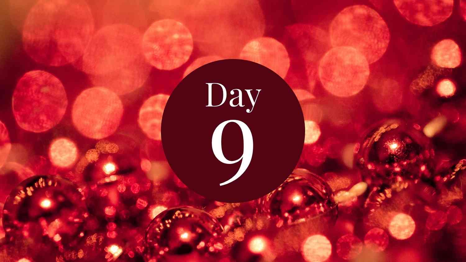 12 days of fitness day 9