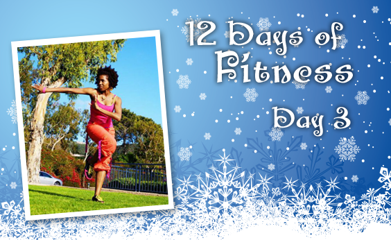 12 Days of Fitness 3: Healthy Holidays