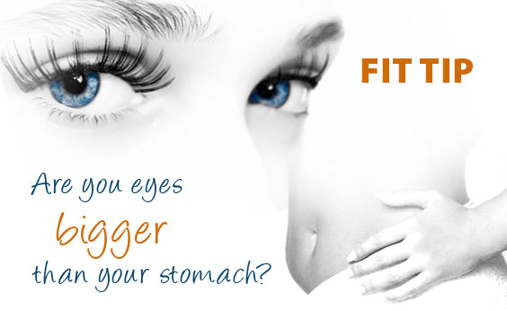 Use Your Eyes To Lose Weight