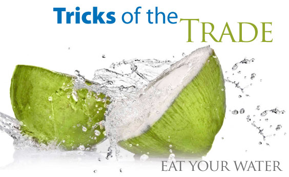 Simple Tip For Weight Loss: Eat Your Water