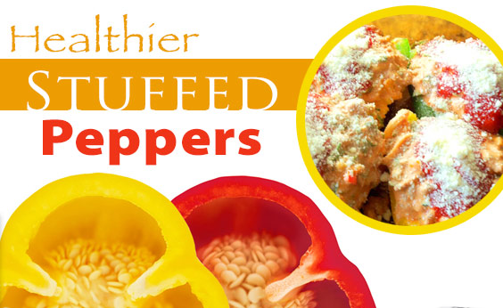 Fresh and Healthy Stuffed Peppers (Recipe)