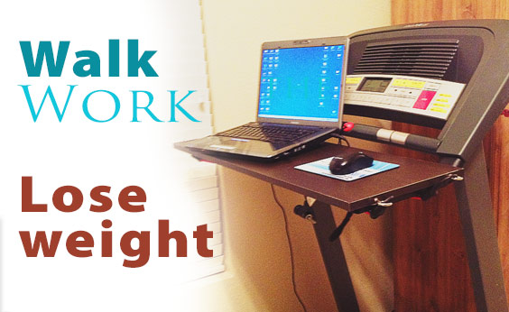 Make Your Own Cheap Treadmill Desk