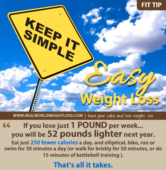 Simple tip for weight loss