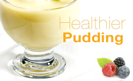 High protein low fat pudding