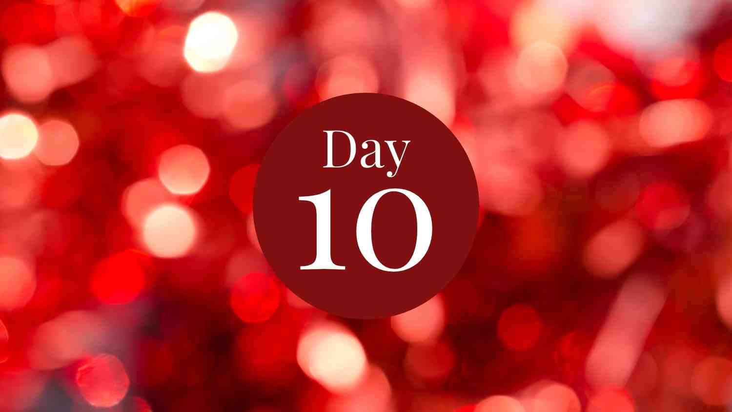 12 days of fitness day 10