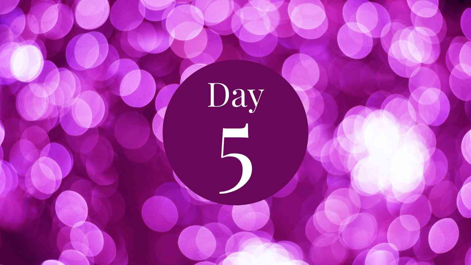 12 days of fitness day 5