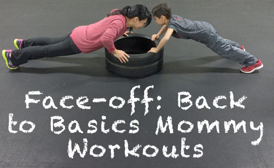 A Tire Workout for Moms and Kids