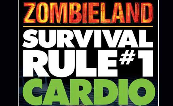 Survive With Zombieland Rule Cardio Real World Weight Loss