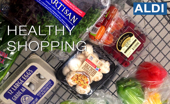 Healthy Budget Food Shopping at Aldi