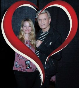 Billy Idol and Helen