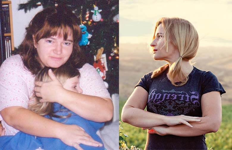 Helen Ryan before weight loss and after